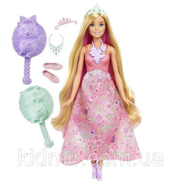 Кукла Барби Дримтопия Принцесса с волшебными волосами Barbie Dreamtopia DWH42