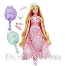 Кукла Барби Дримтопия Принцесса с волшебными волосами Barbie Dreamtopia Color Stylin' Princess