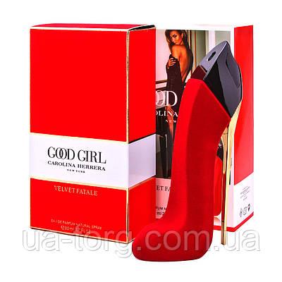 Carolina Herrera Good Girl  Velvet Fatale красная бархат, женская парфюмированная вода ,80 ml