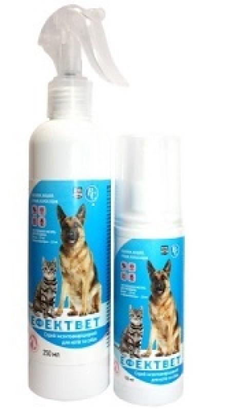 ЭФФЕКТ спрей от блох и клещей для собак и кошек, 250 мл