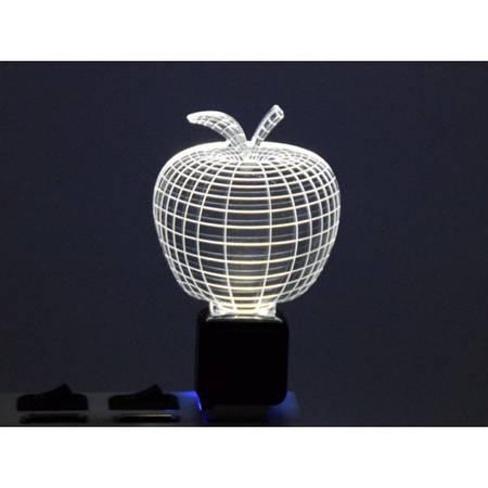 Светильник 3D акриловый Яблоко