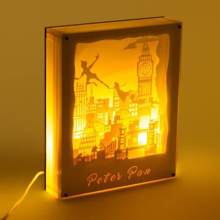 Светильник картина 3D Питер Пен