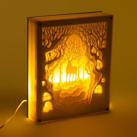 Светильник картина 3D Олень