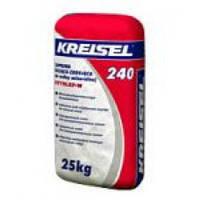 KREISEL 240 Клей для плит из минеральной ваты и устройства базового штукатурного слоя, 25 кг.