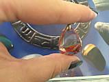 Фантомный кварц кулон с кварцем, фото 2