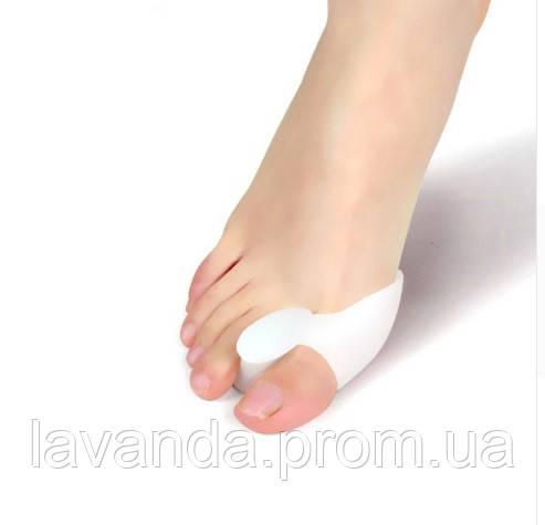 Буксопротектор большого пальца стопы с межпальцевой перегородкой, силиконовый