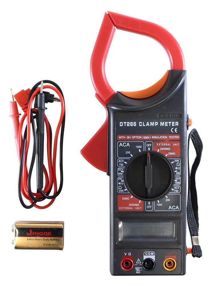 DT-266 токоизмерительные клещи с функцией мультиметра