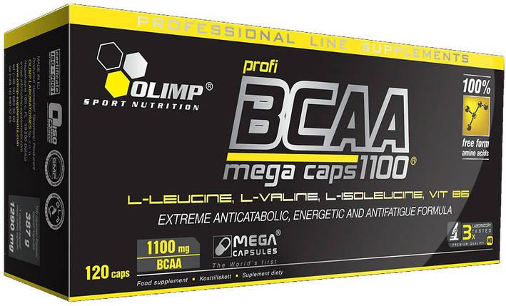 Амінокислоти BCAA Olimp Labs Mega Caps 1100, фото 2