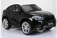 Детский электромобиль двухместный джип JJ2168-2, черный