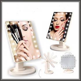 Зеркало с подсветкой для макияжа 22 LED