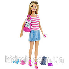 Лялька Барбі і її вихованці Barbie Puppy Accessory DJR56