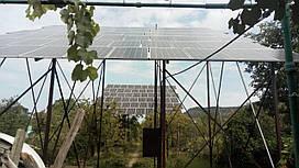 СЭС 30 кВт под зеленый тариф на двух стационарных каркасах (Закарпатье)