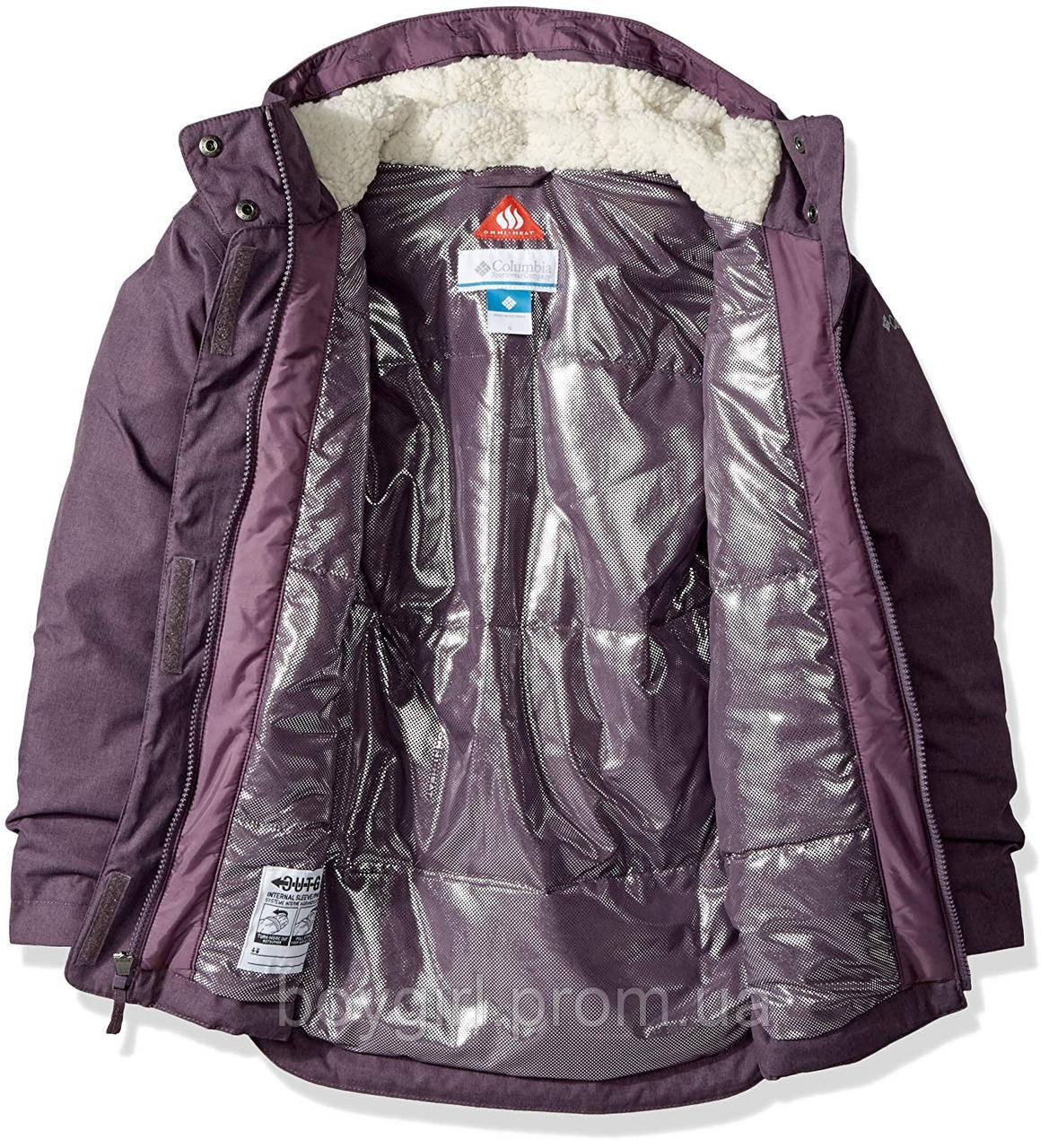 Куртка Columbia Omni-Heat зимняя удлинённая с системой роста ... e4f8cc77fa51d