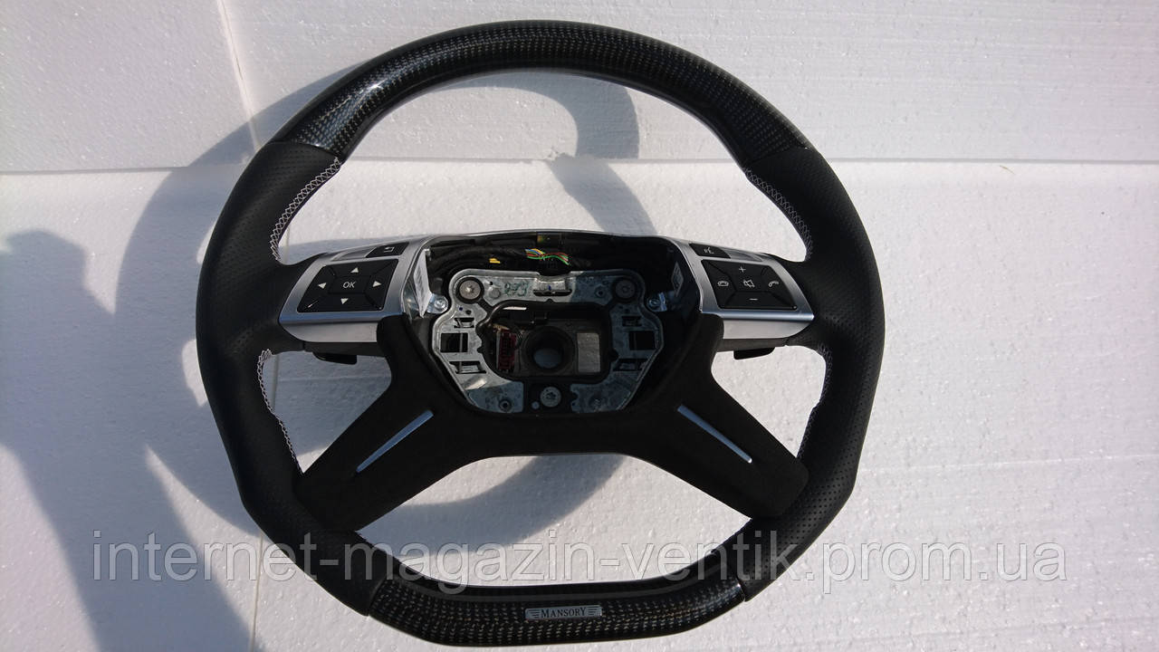 Карбоновый руль Mercedes G-class W463 Mansory
