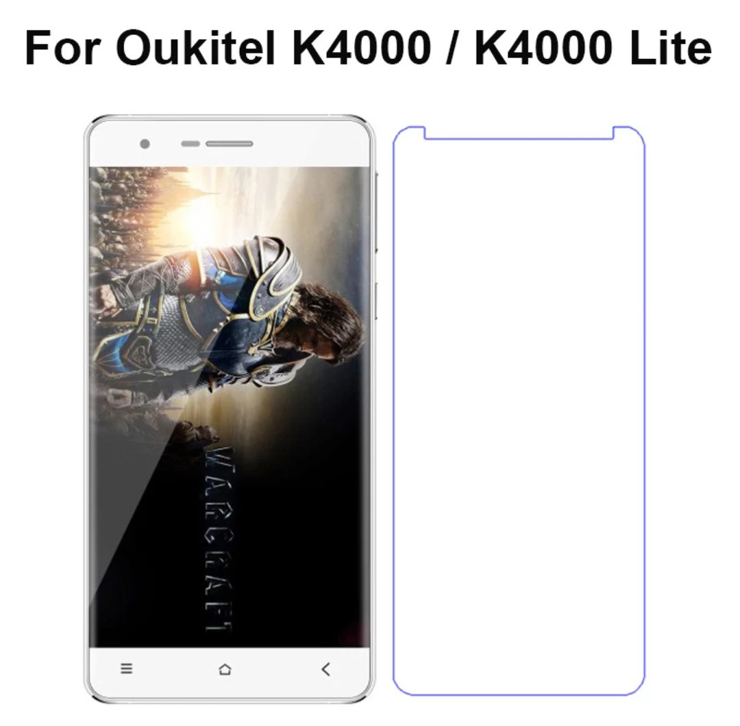Захистне закалене скло для Oukitel K4000 K4000 Lite  2.5D 0.3 mm