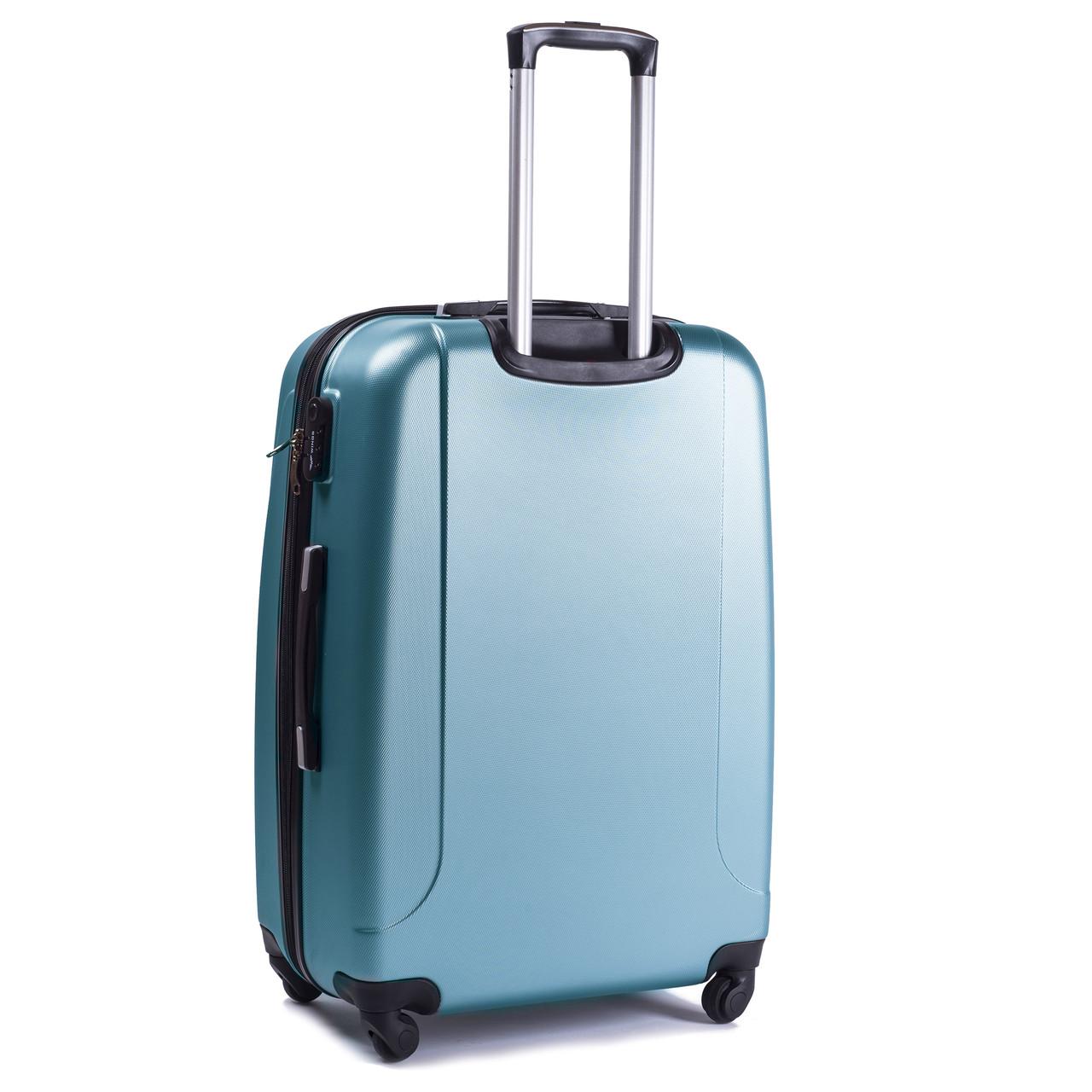 d406711a13bd Чемодан средний (65х44х27) Wings 310 на 4 колесах (голубое серебро), ...