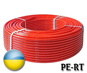 Труба для теплого пола 16х2 PE-RT без кислородного барьера