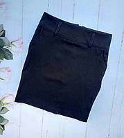 Юбка школьная детская, размер 128-152, темно синий
