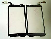 Оригинальный тачскрин / сенсор (сенсорное стекло) для Doogee (HomTom) Zoji Z8 (черный цвет)