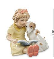Фігурка Pavone Дівчинка з собачкою 9 см (105745), фото 1