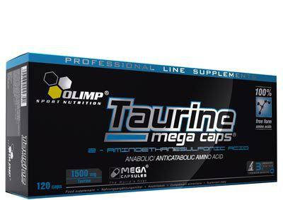 Амінокислоти Olimp Labs Taurine Mega Caps 120 caps, фото 2