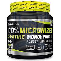 BioTech 100% Creatine Monohydrate креатин моногидрат для набора мышечной массы тренировок спортивное питание