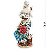 Фигурка Pavone Девушка с цветами 30 см (106150), фото 1