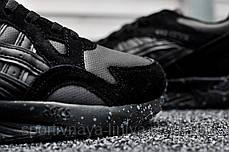 Кроссовки мужские черные Asics Gel Lyte V Triple Black (реплика), фото 3