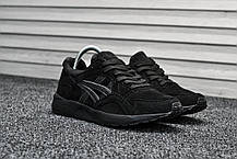 Кроссовки мужские черные Asics Gel Lyte V Triple Black Suede (реплика), фото 2