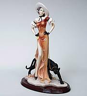Статуэтка Great Art Дама с пантерой 46 см (901797), фото 1