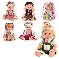 Кукла в рюкзаке ОКСАНОЧКА 5139-5140-5055-5056 укр