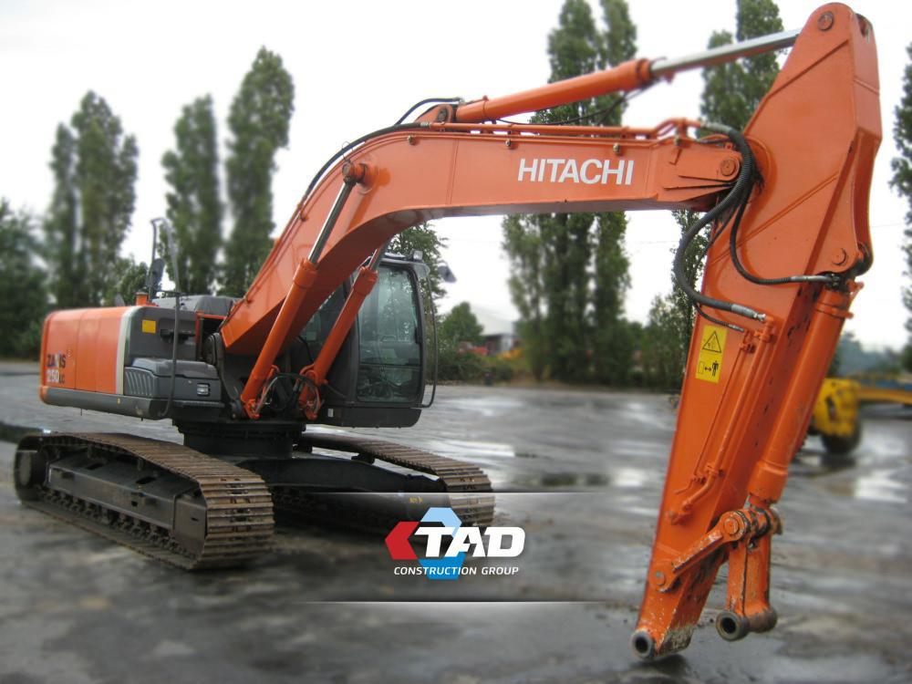 Гусеничный экскаватор Hitachi ZX250LC-3 (2013 г)
