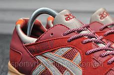 Кроссовки мужские красные Asics Gel Lyte V Volcano Red (реплика), фото 3