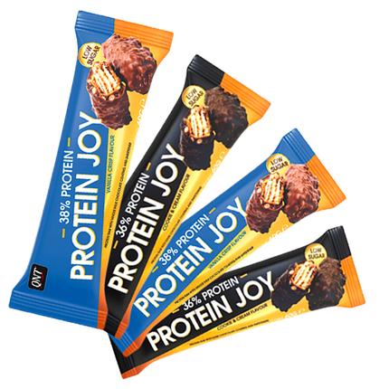 Протеїновий батончик QNT Protein Joy Bar 60 g, фото 2