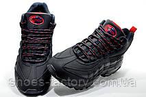 Зимние кроссовки на меху в стиле Nike Air Max 95, Dark Blue, фото 3