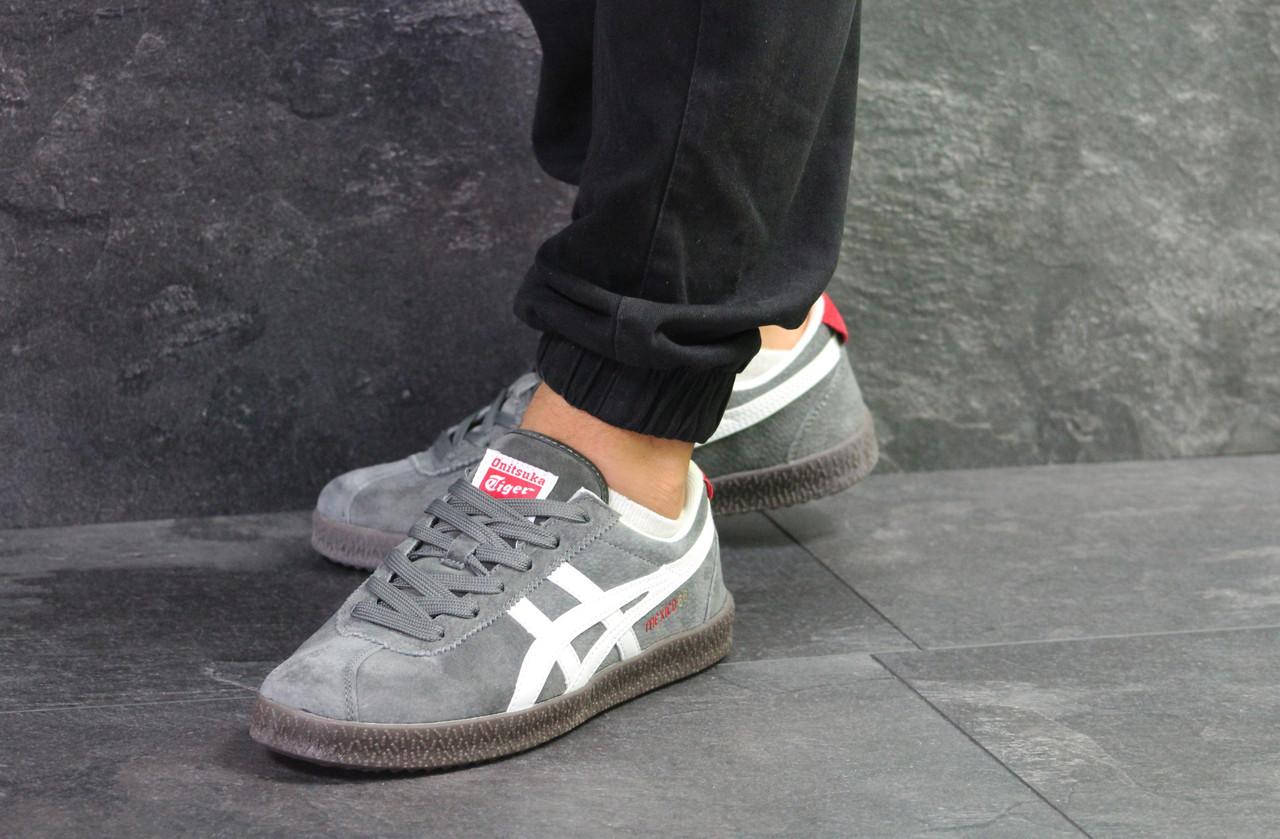 b5697ded53a7f7 Кроссовки мужские мужские кроссовки Asics Onitsuka Tiger Mexico 66,  серые(Реплика) - Интернет