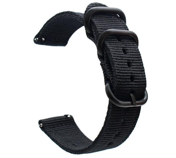 Нейлоновый ремешок Primo Traveller для часов Xiaomi Huami Amazfit Sport SmartWatch - Black