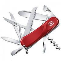 Нож Складной Мультитул Викторинокс Victorinox Junior 03 (85мм, 15 функций), красный 2.3913.SKE