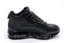 Зимние кроссовки в стиле Nike Air Max 95, Кожаные, фото 3