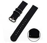 Нейлоновый ремешок Primo Traveller для часов Asus ZenWatch 2 (WI501Q)  - Black, фото 3
