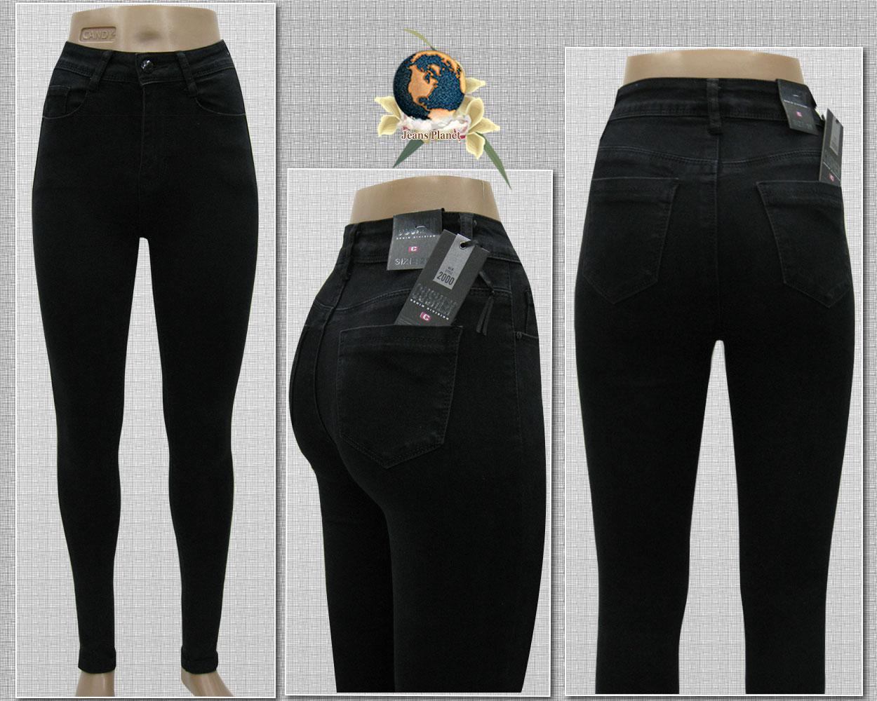 c30dbf208a3 Стильные зауженные женские джинсы с высокой талией зима-осень 33 размер