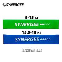 Комплект ленточных эспандеров Mini Band Synergee (9-18 кг, 2-3 уровень)