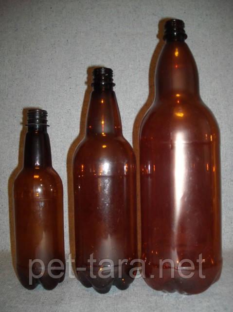 Пет пляшка пиво 0.5 л, 1л, 2л виробництво