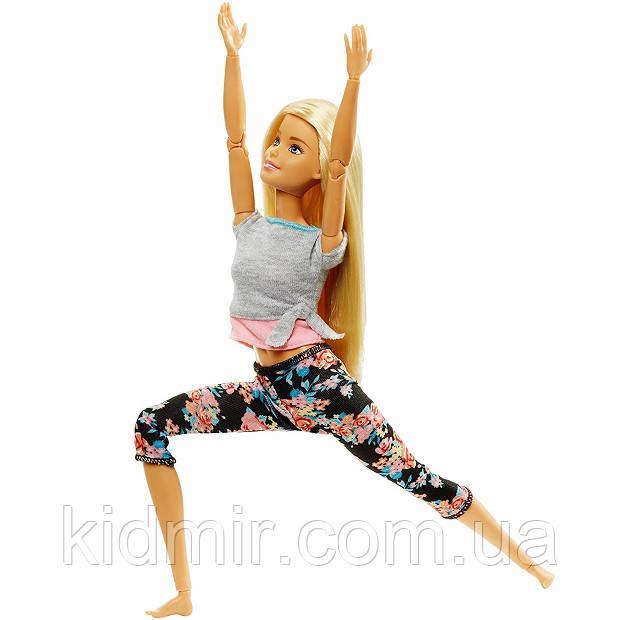 Кукла Барби Двигайся как Я Йога Barbie Made to Move FTG81