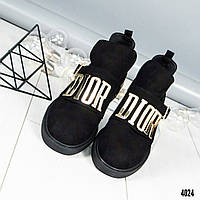 """Туфли женские """"D/OR""""  черные"""