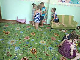 Детский ковролин Цветочки, фото 3