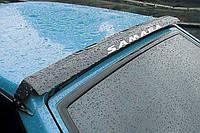 Дефлектор заднего стекла, спойлер заднего стекла,  козырек ВАЗ 2108 - 2109 металллический,  Россия