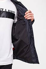 Демисезонная куртка-рубашка CLASNA CW18MC054 черная, фото 3