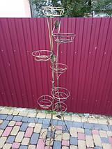 """Подставка кованая для цветов """"Башня"""" на 9 вазонов, фото 2"""
