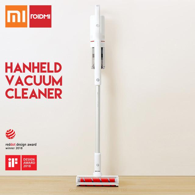 Ручной Беспроводной Пылесос Xiaomi ROIDMI F8 Handheld Vacuum Cleaner 18500 Pa Electric Anti-mite Brush